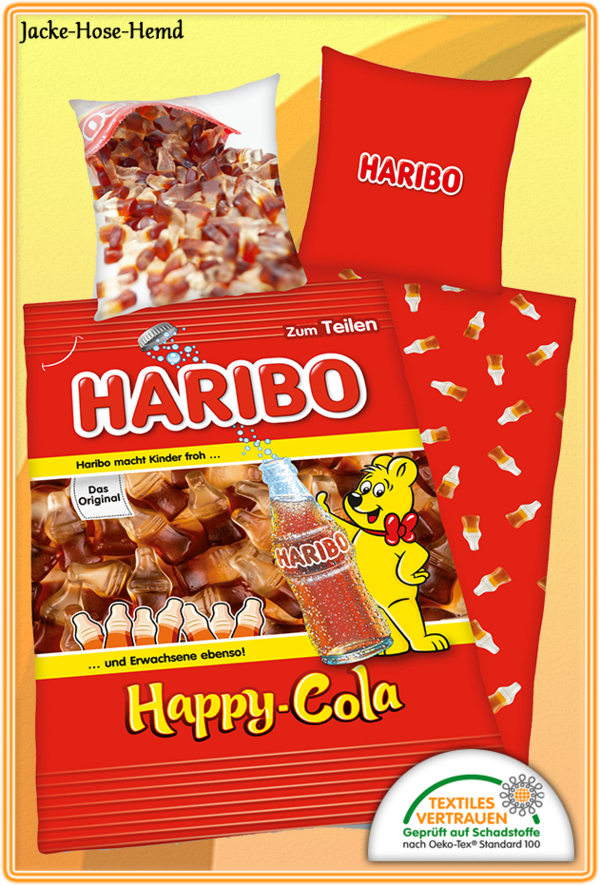 Bettwäsche Haribo Happy Cola